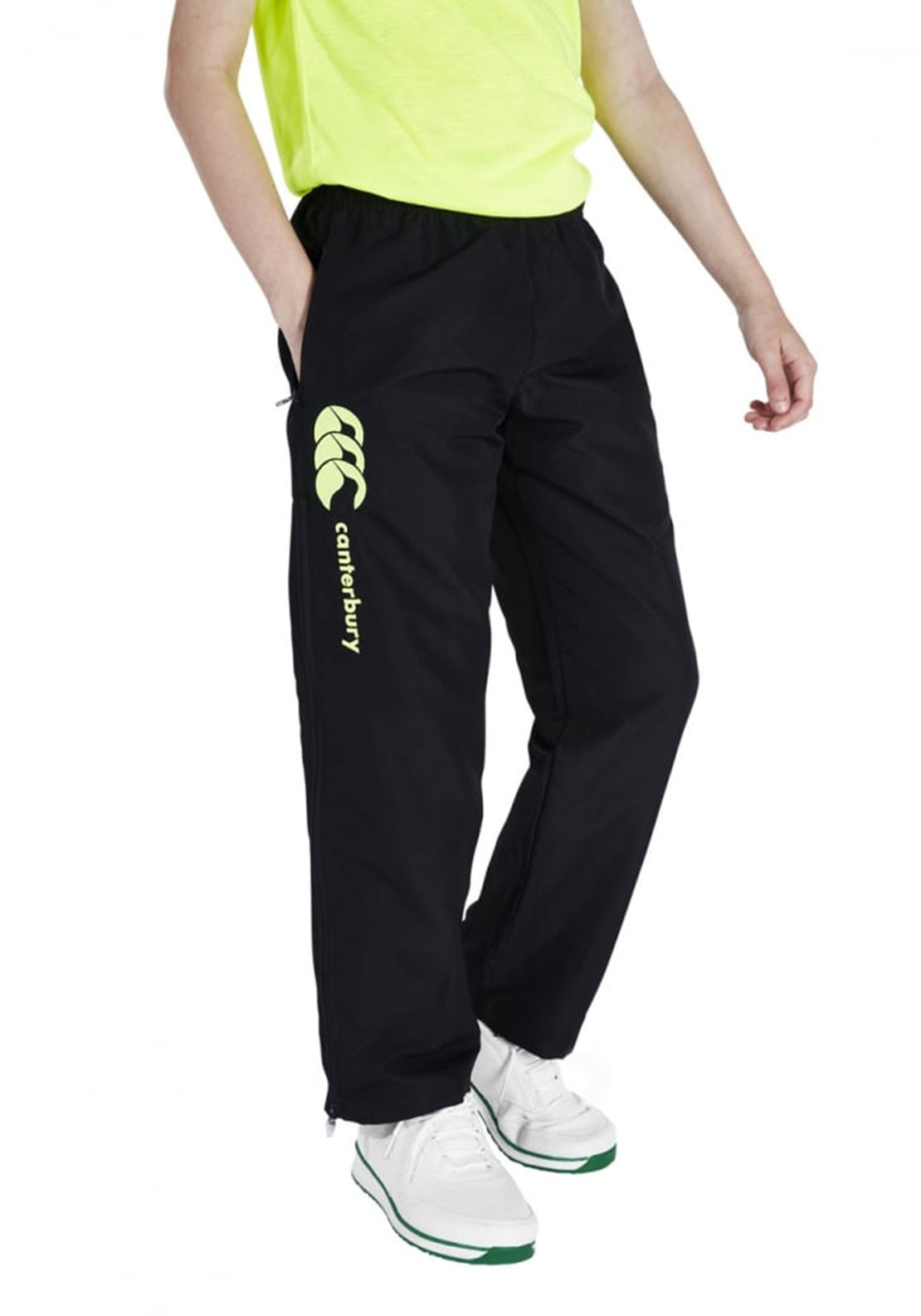 Canterbury Boys Tapered Stadium Pants, Black