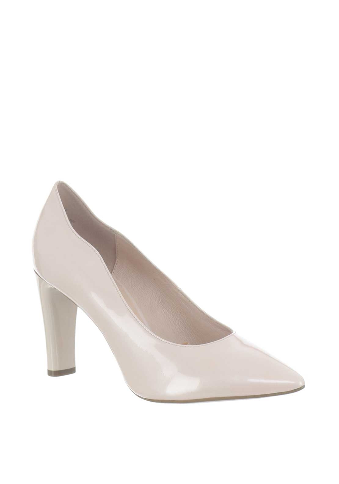 Caprice Patent Leather Pointed Toe Heeled Shoes 43f55e326