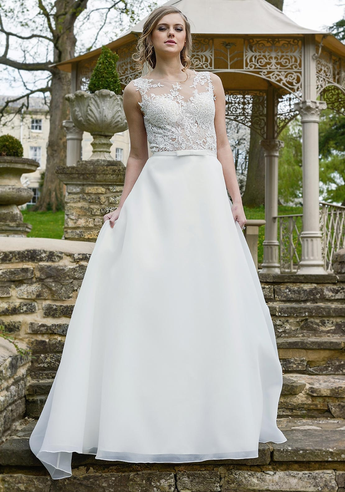 Catherine Parry Sonnets Collection Cara Wedding Dress, Ivory