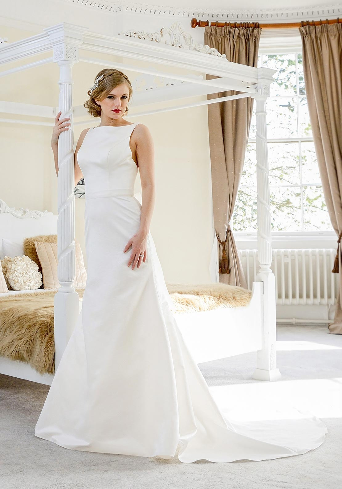 Catherine Parry Sonnets Collection Gwen Wedding Dress, Ivory