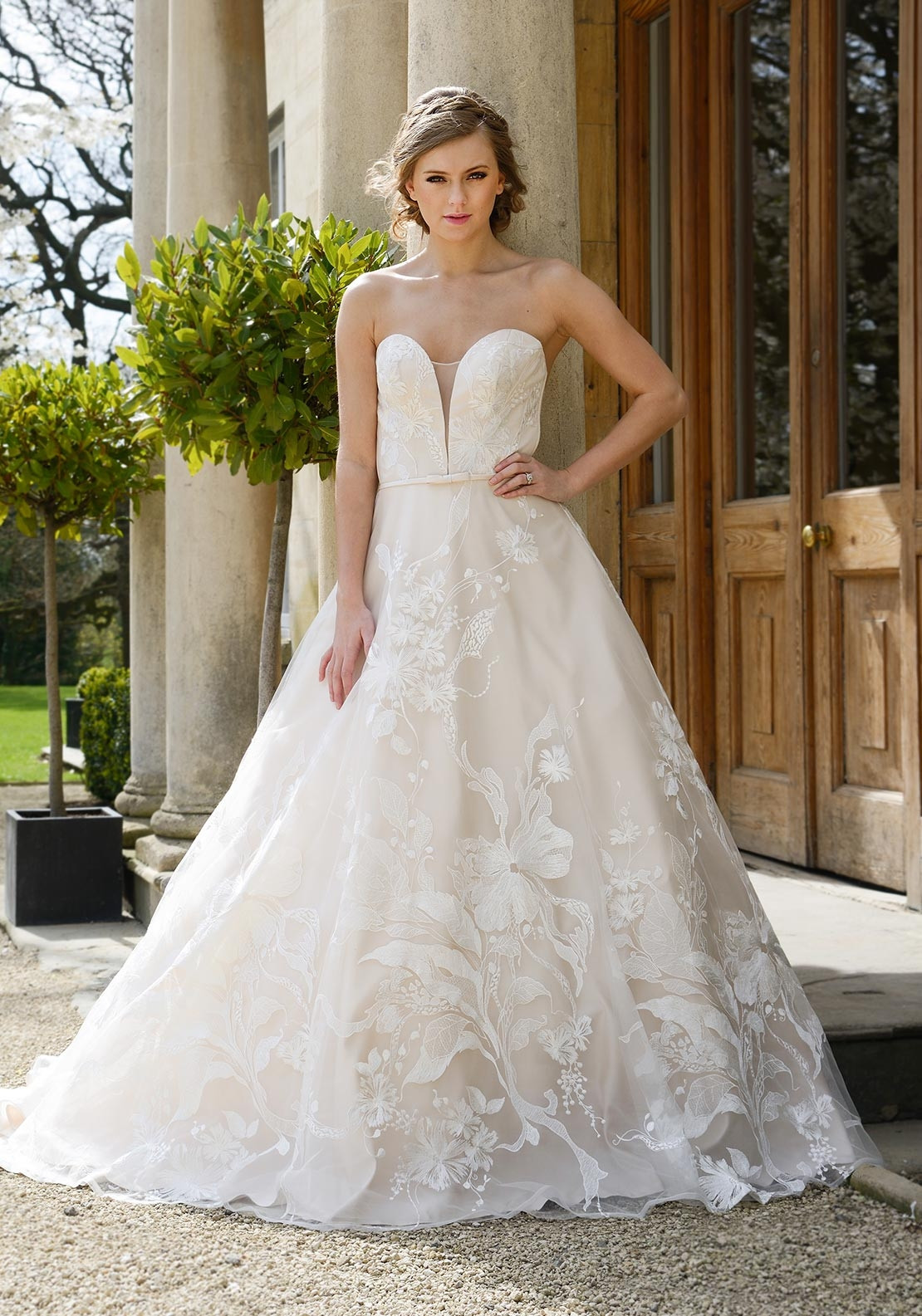 Catherine Parry Sonnets Collection Scarlett Wedding Dress, Ivory