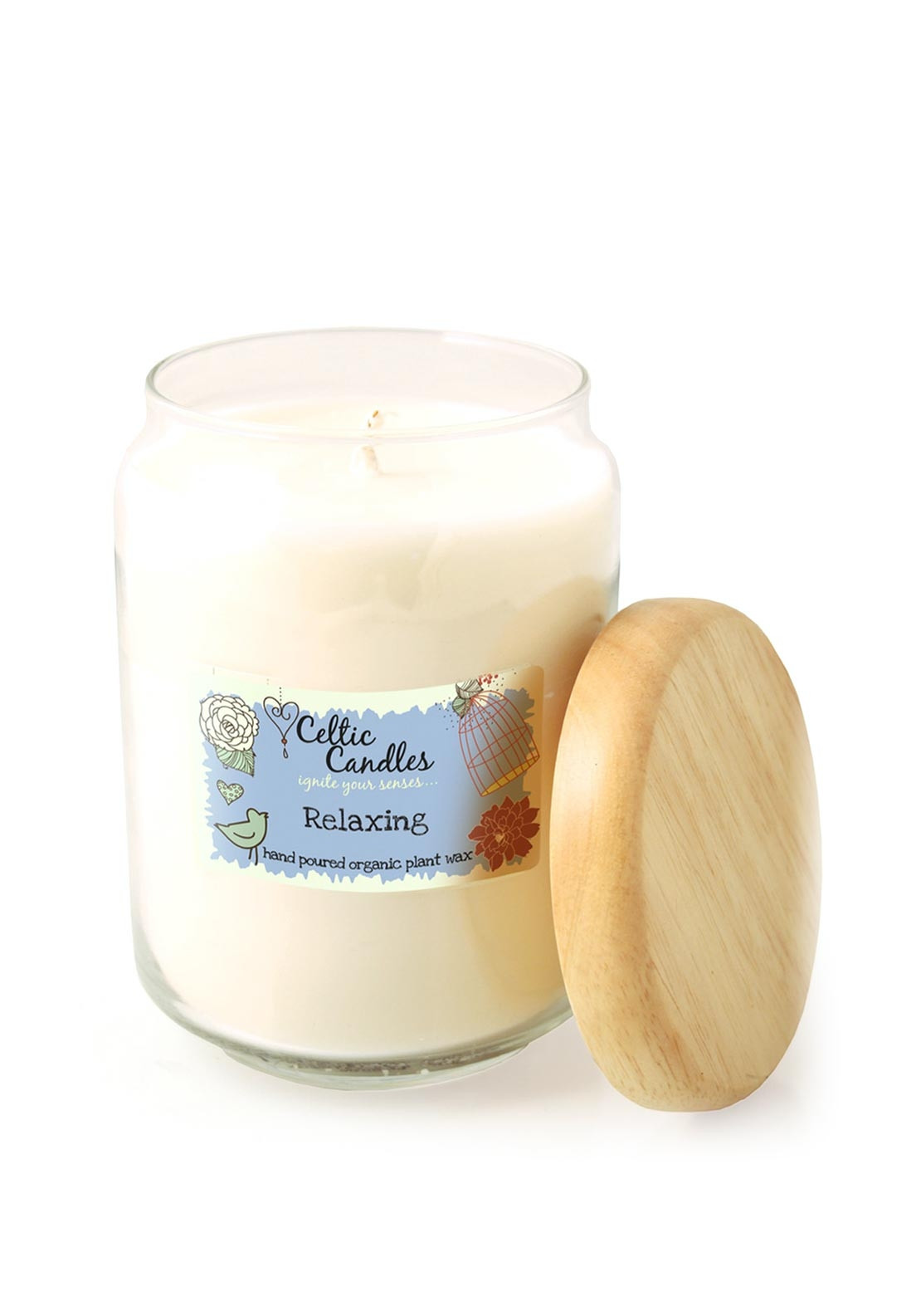 Celtic Candles Large Relaxing Candle Jar, 650ml