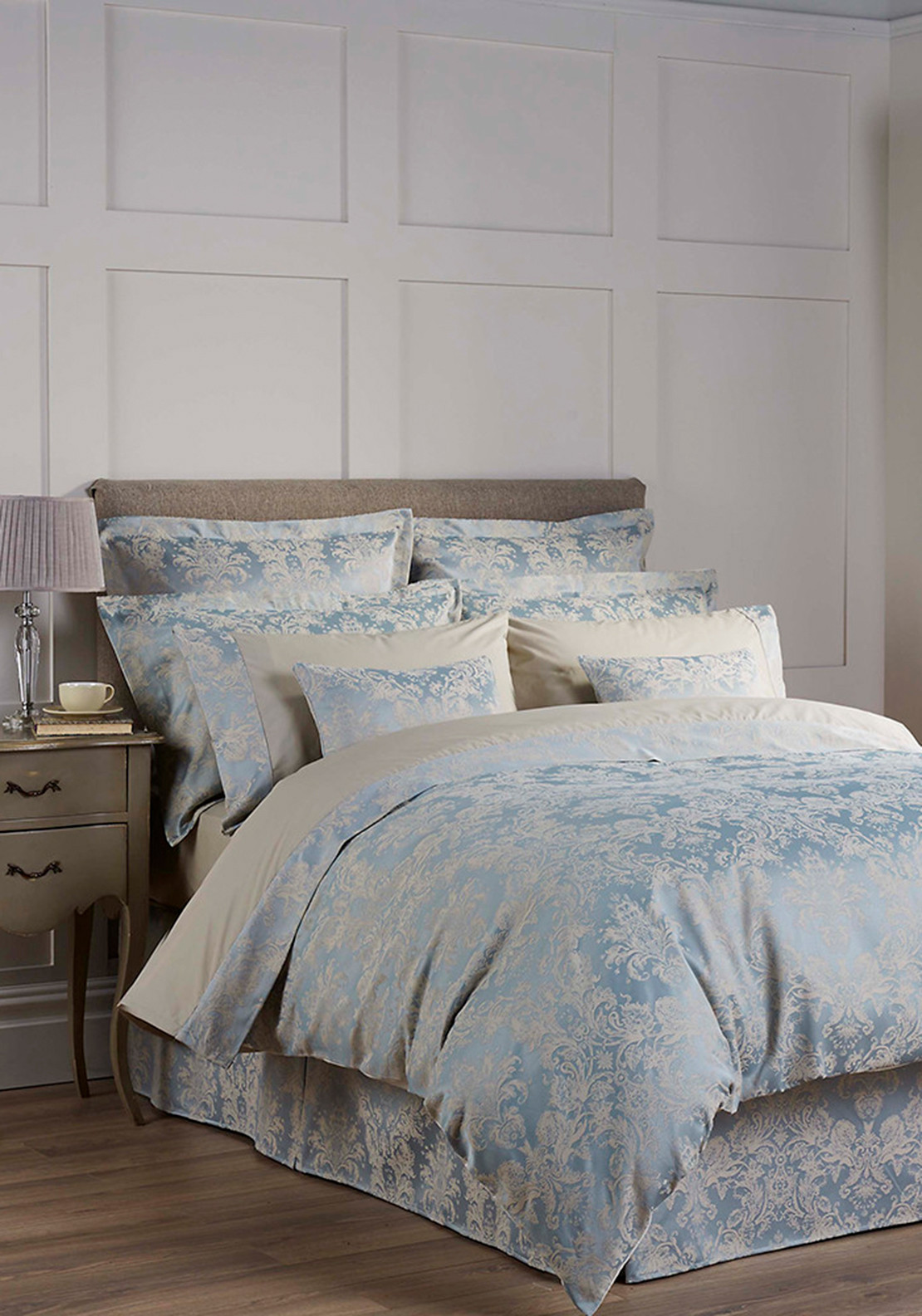 Christy Bed-Linen Collection Serena Duvet Cover