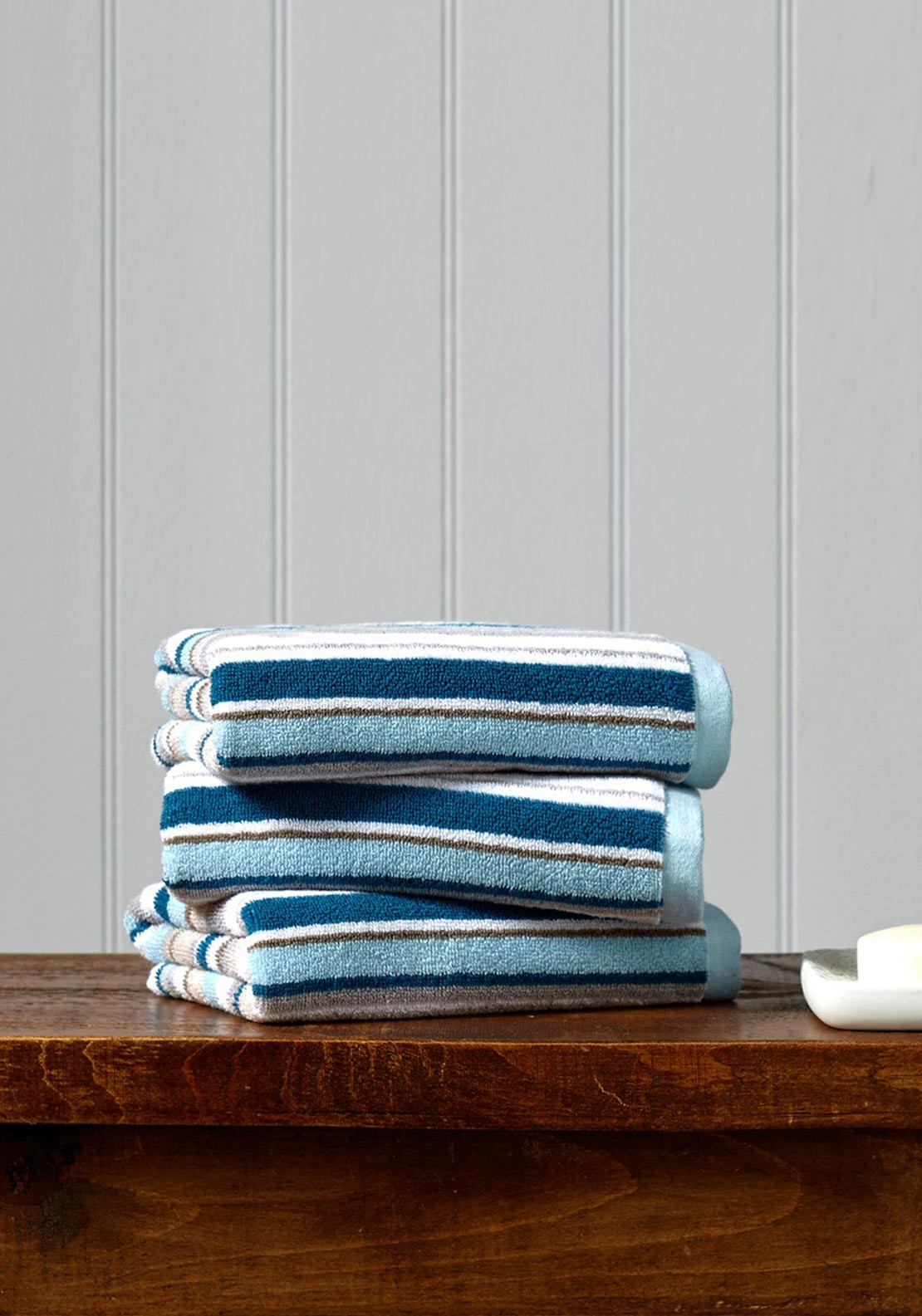 Christy Portobello Stripe Towel Range, Surf