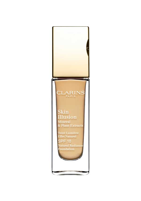 Clarins Skin Illusion Natural Radiance Foundation SPF 10, 109 Wheat