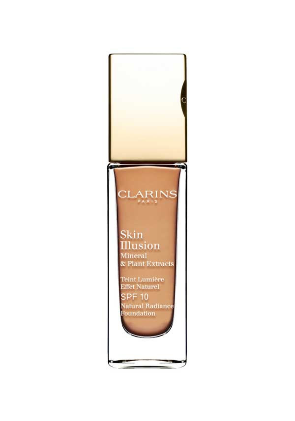 Clarins Skin Illusion Natural Radiance Foundation SPF 10, 113 Chestnut