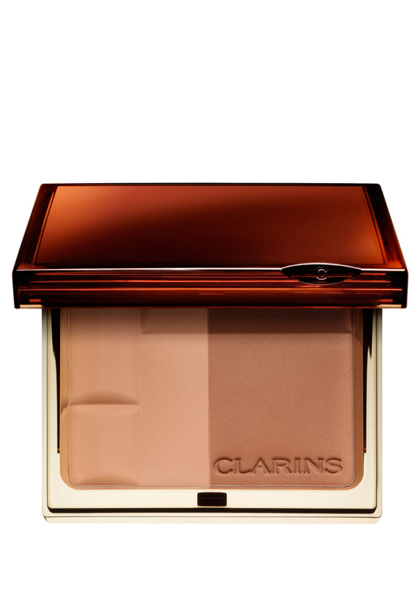 Clarins Bronzing Duo Mineral Powder Compact, 02 Medium