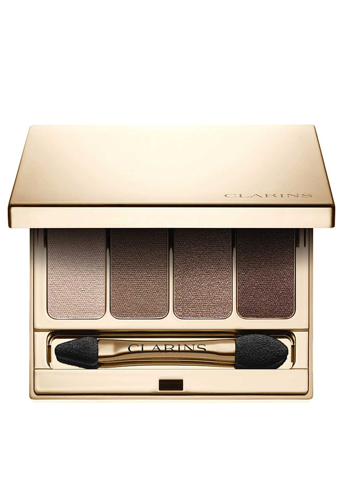 Clarins Wet & Dry Eyeshadow Palette 4 Colours, Brown 03