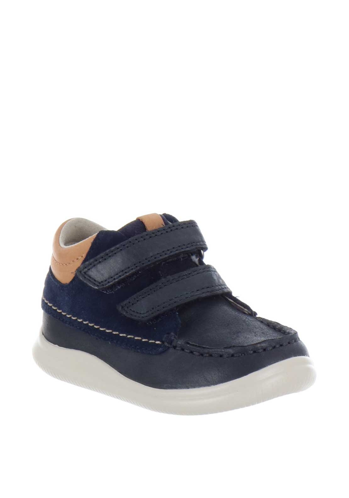 Clarks Boys Comet Moon Leather Boots