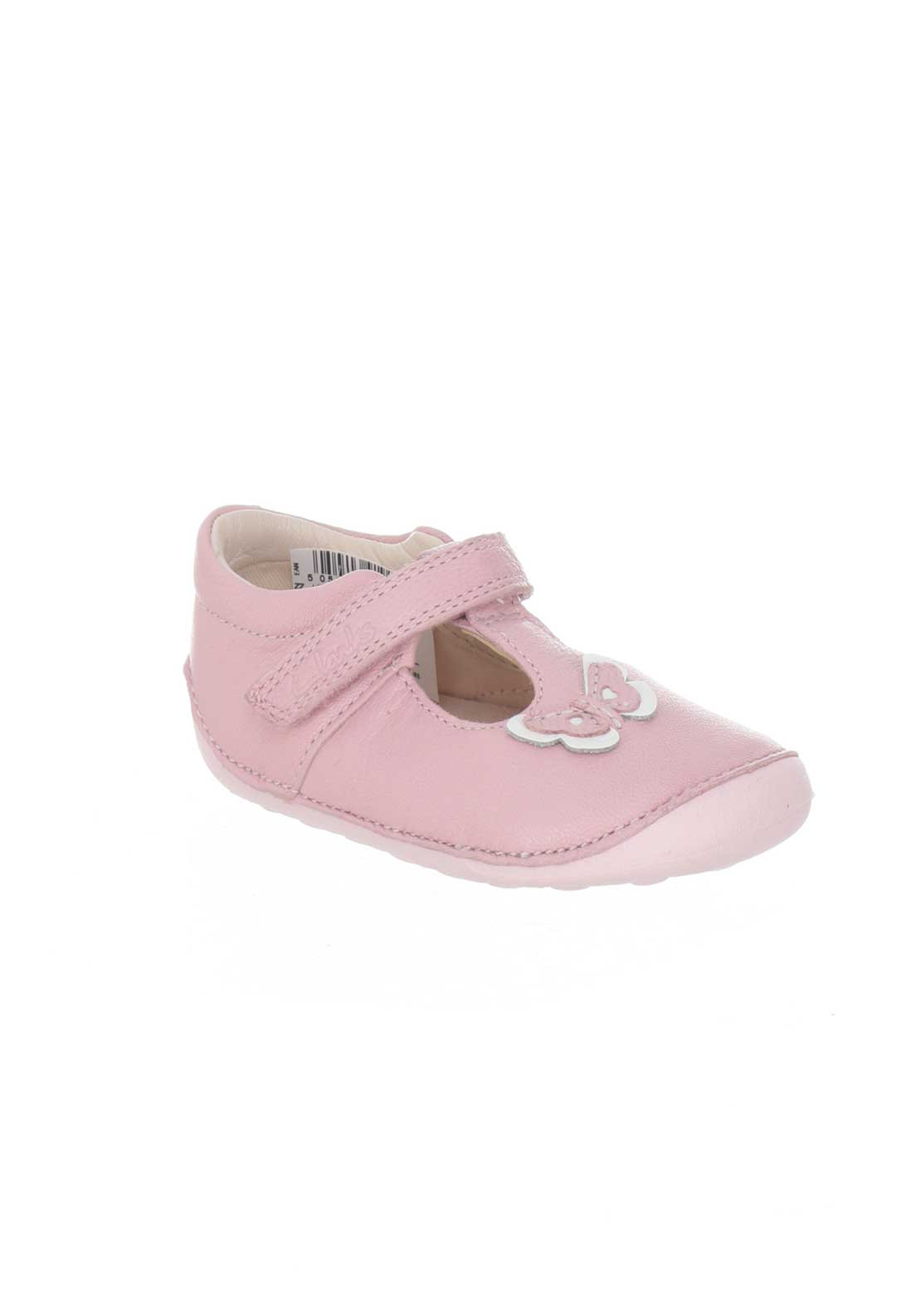 13c45925419ce Clarks Baby Girls Leather Little Wow Pre Shoes