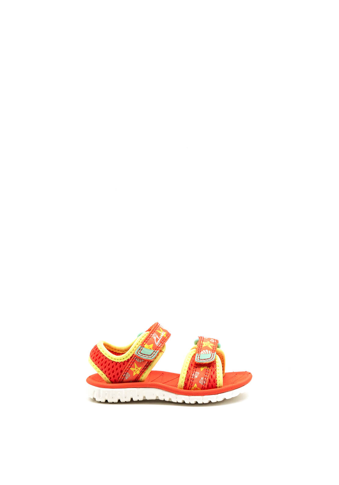 Clarks Baby Girls Surfing Tide Open Toe Sandals, Coral