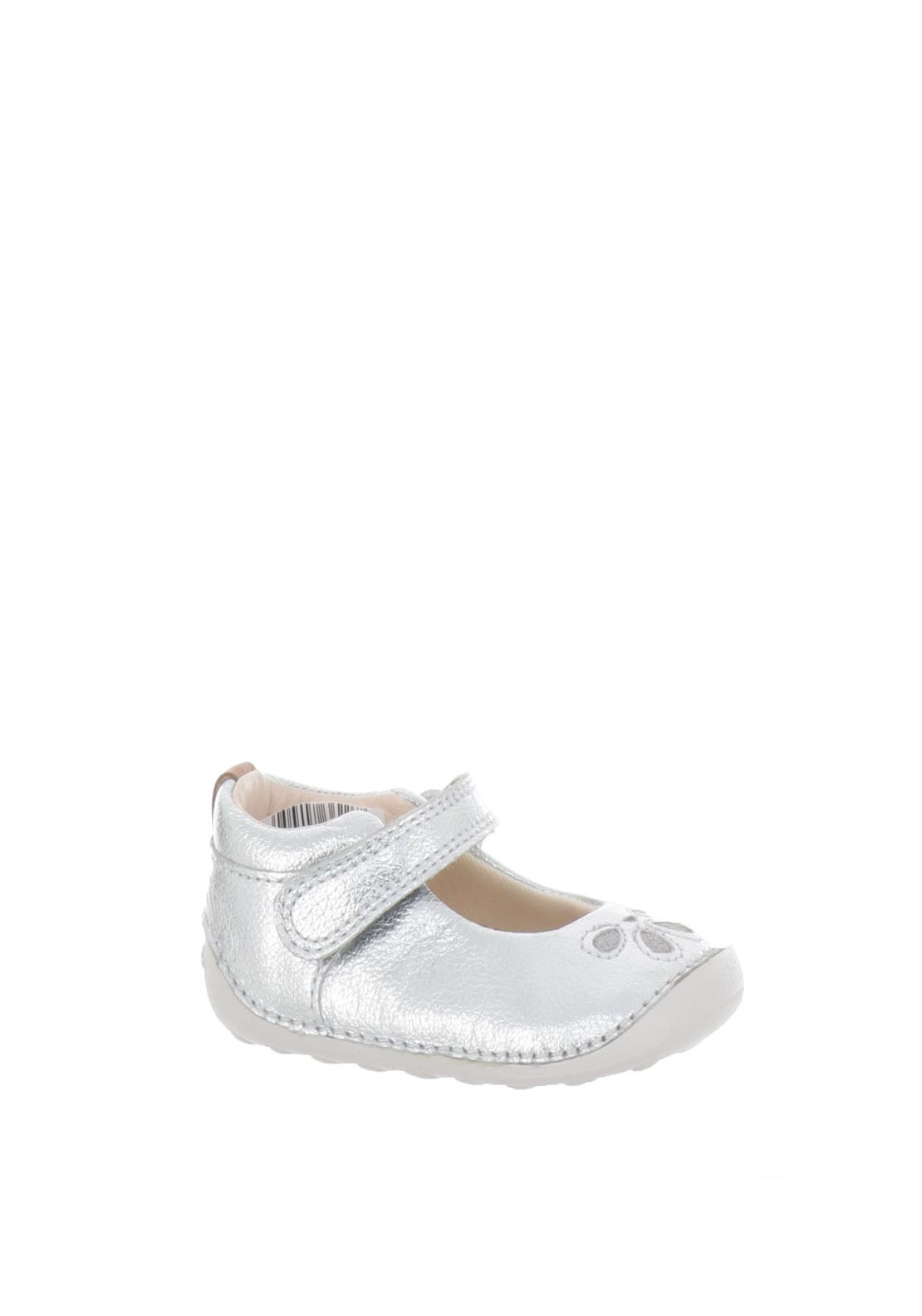 outlet on sale amazing quality choose clearance Clarks Baby Girls Tiny Eden Leather Pre-Walking Shoes, Silver