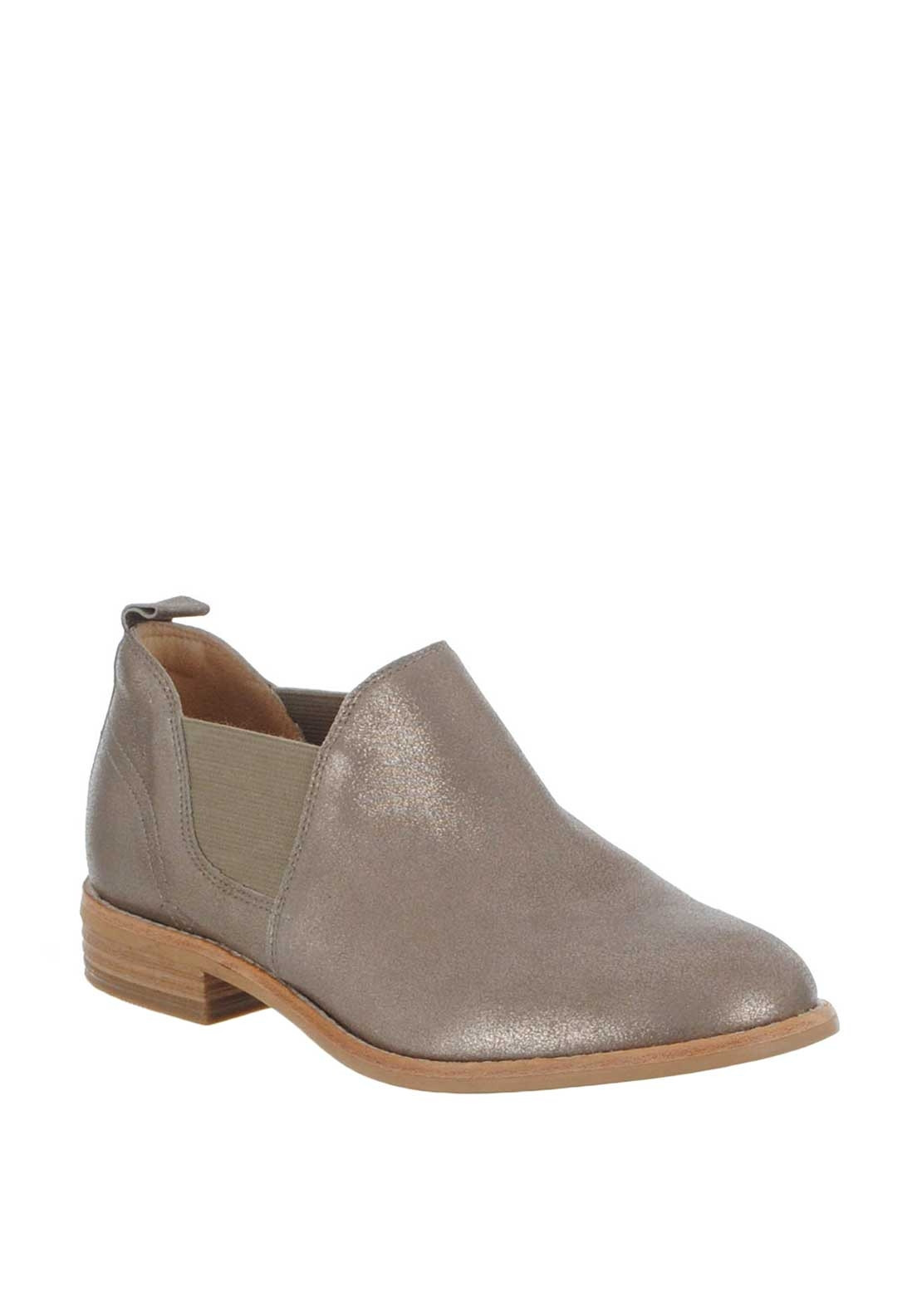 new selection nice cheap later Clarks Womens Edenvale Page Shimmer Suede Boots, Pewter