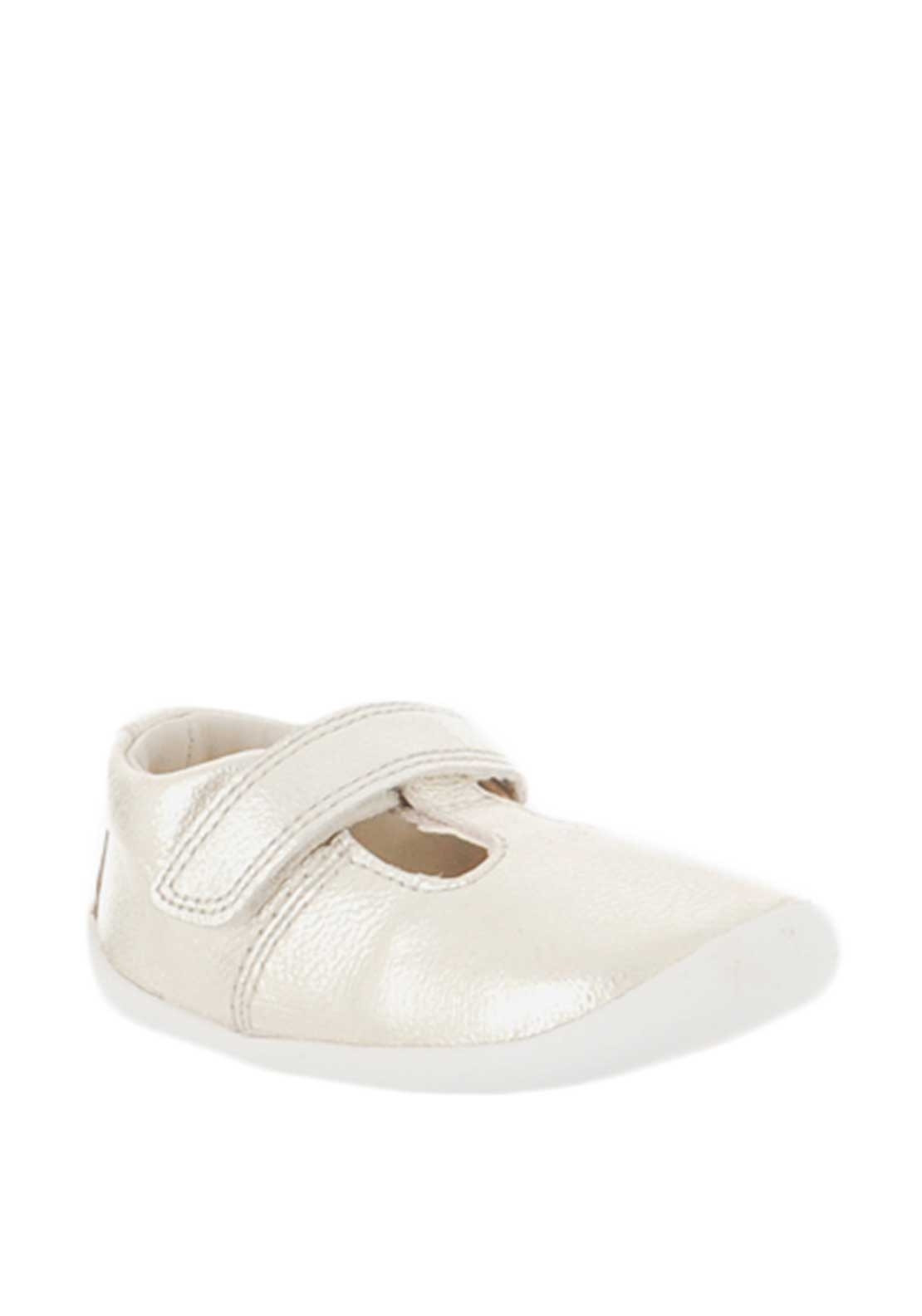 c0b272e7402 Clarks Baby Girl Roamer Go Pre-Walking Shoes, Metallic Gold. Be the first  to review this product