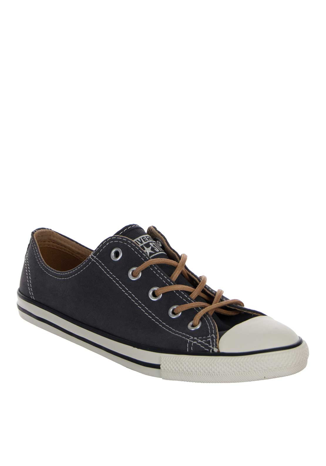 Converse Womens All Star Canvas Trainers, Almost Black