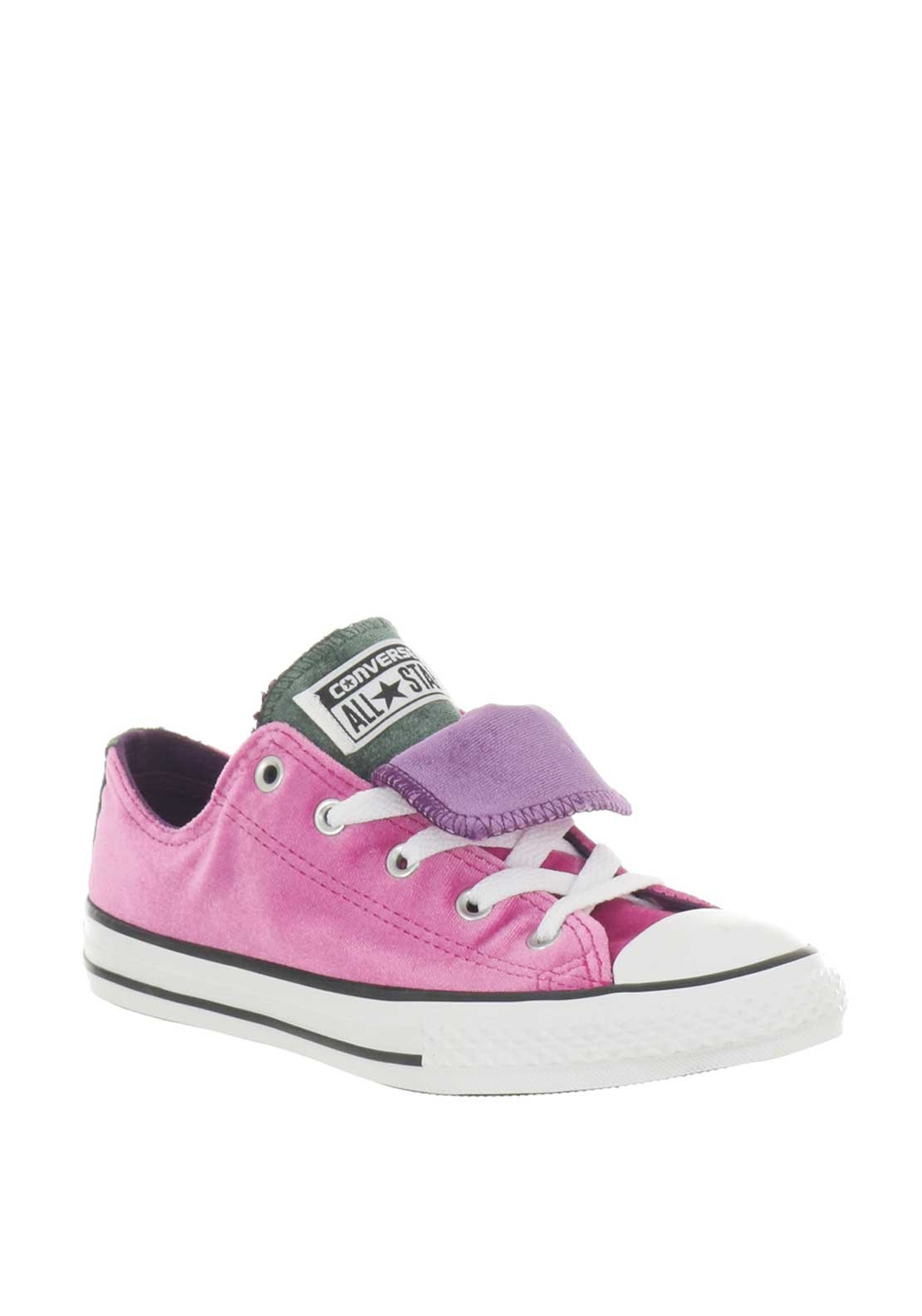 353b254609ab Converse Girls Velvet Low OX Trainers
