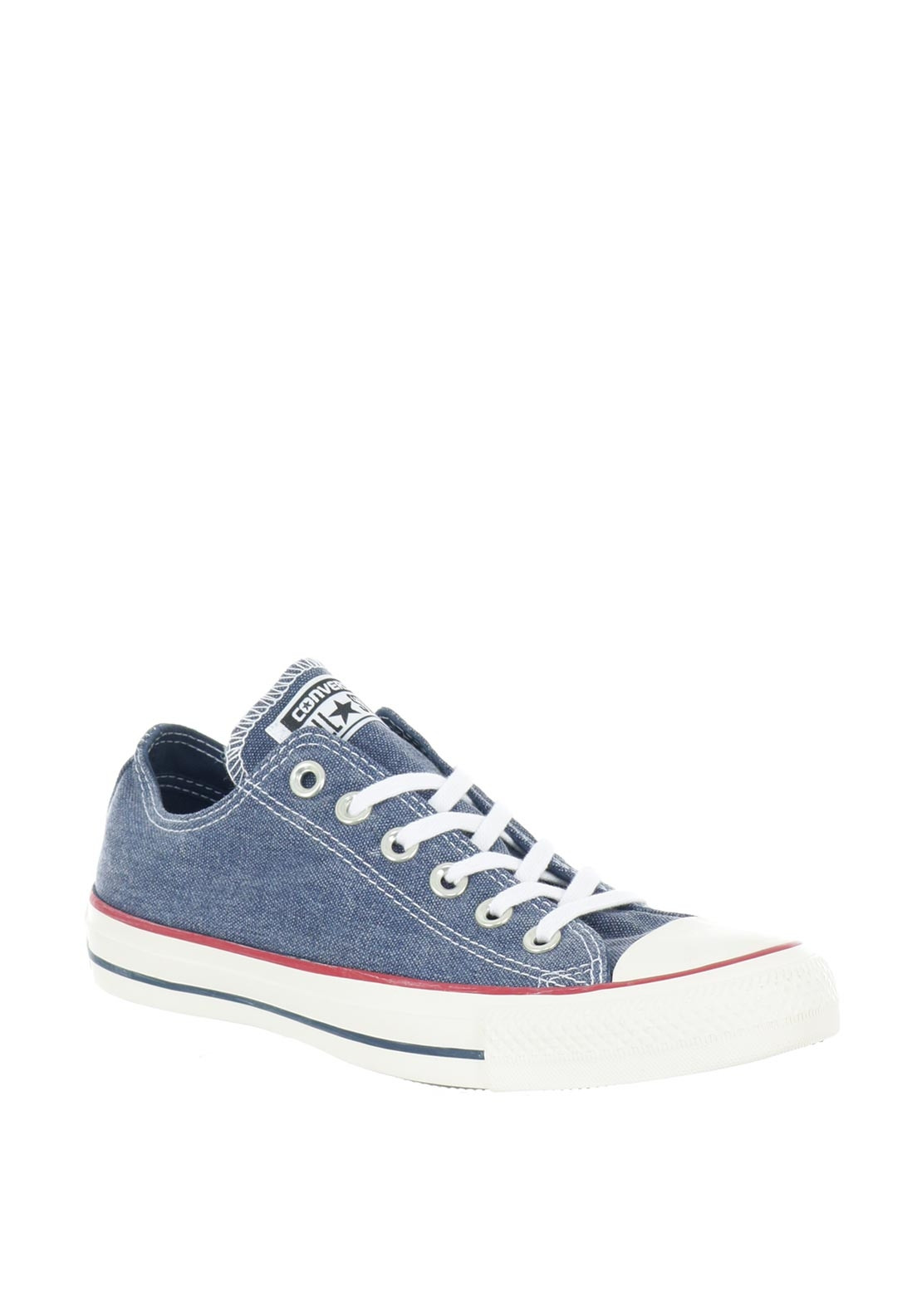 3a9576694eb6 low price converse womens chuck taylor ox floral print trainer denim 4d142  5f465  spain converse womens all star ox denim trainers blue 78537 0bd24