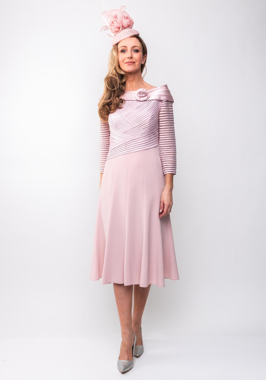 b039e7d408 Couture Club Ribbon Bodice Flared Dress, Pink. Be the first to review this  product