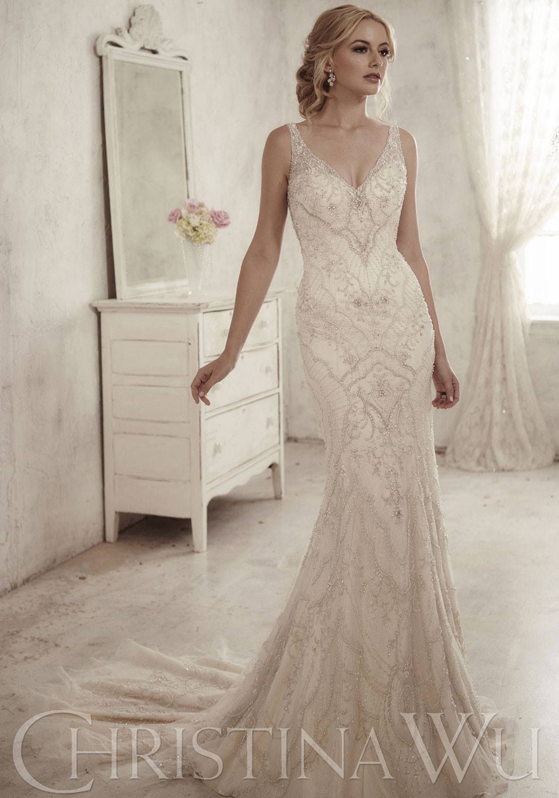 CHRISTINA WU BRIDAL 10S IVL