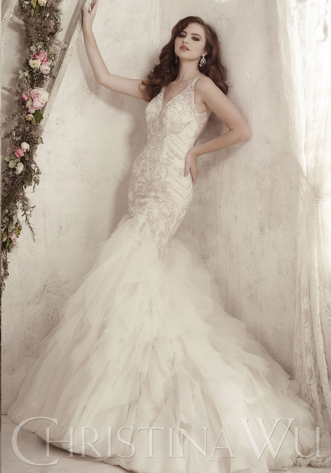Christina Wu Wedding Dress 15603