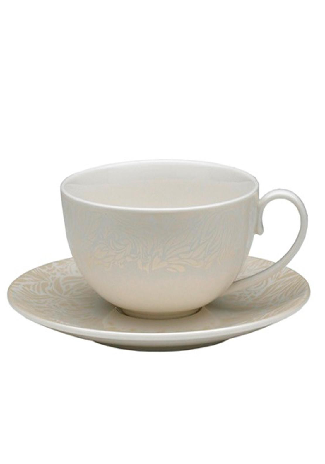 Denby Monsoon Lucille Gold Tea Saucer