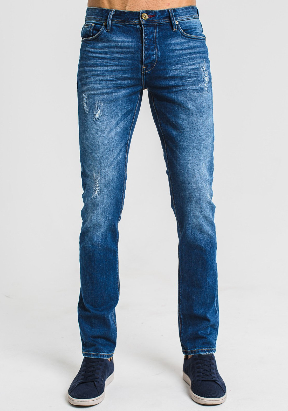 522b36f7 Diesel Men's Scott Slim Fit Jeans, Blue. Be the first to review this product