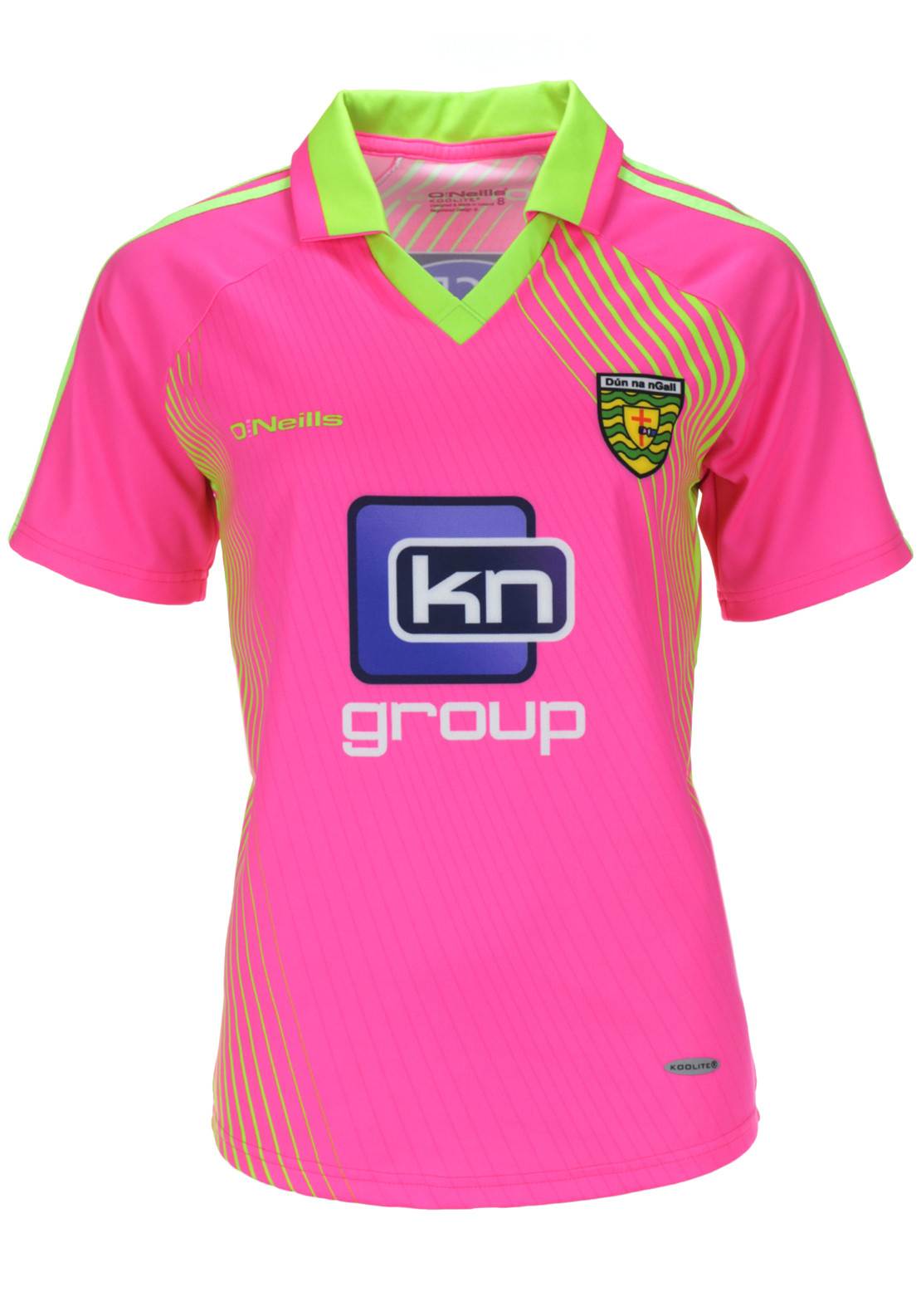 O'Neills Womens Donegal GAA Training Jersey, Pink