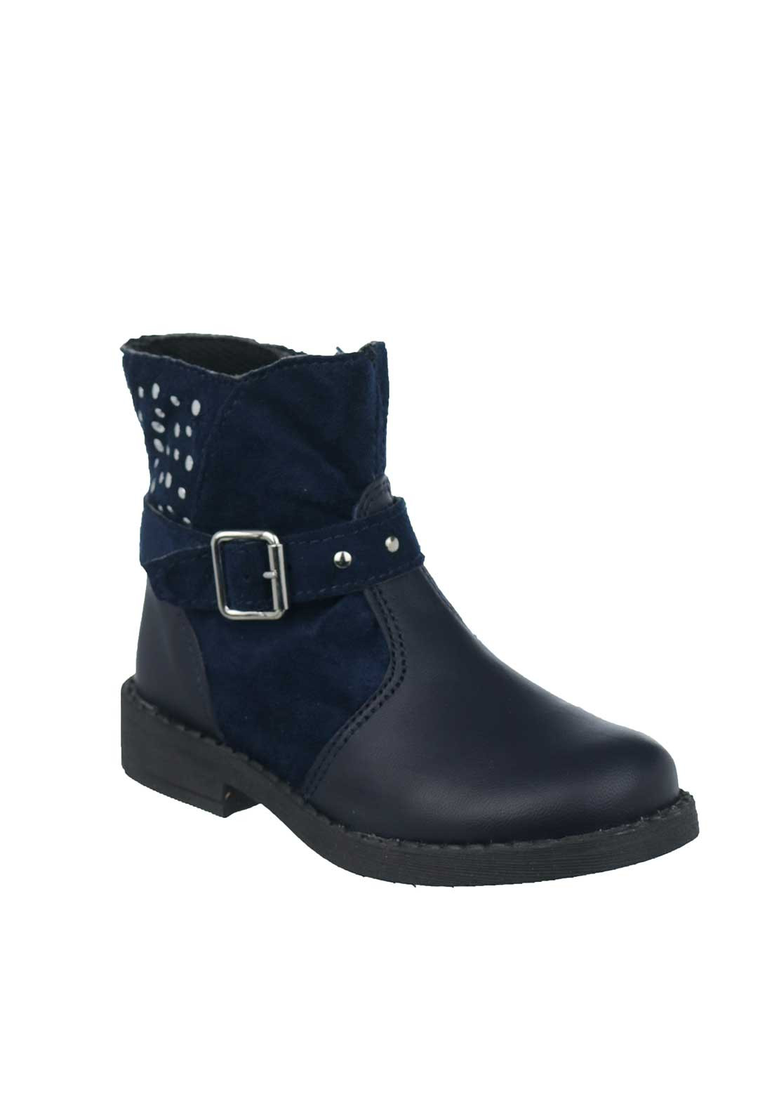 Dubarry Baby Girls Tava Stud Boots, Navy