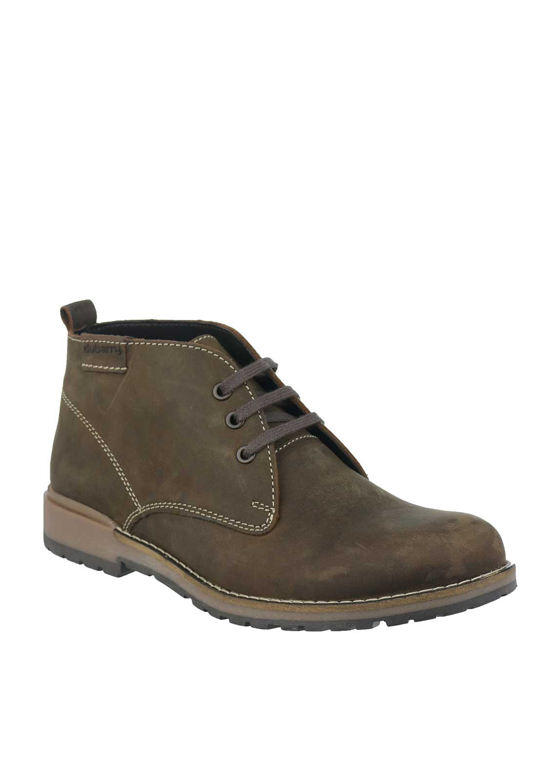 Dubarry Mens Samson Lace-Up Leather Boot, Brown