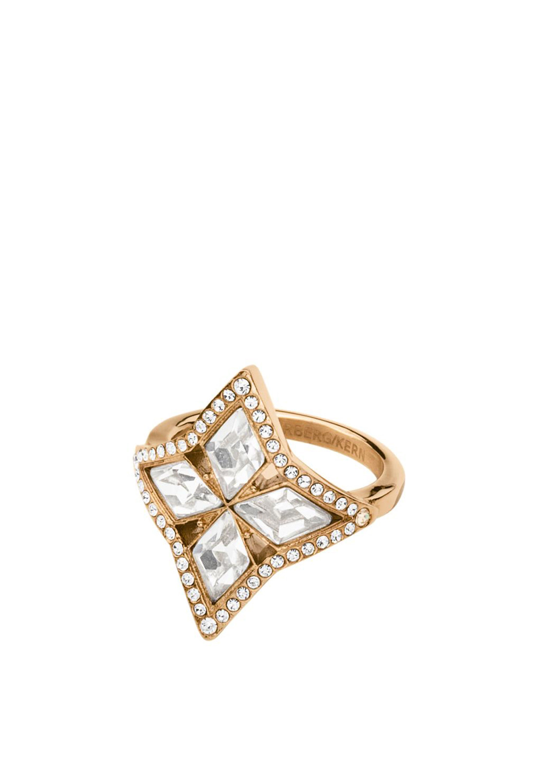 Dyrberg Kern Susy Ring, Rose Gold
