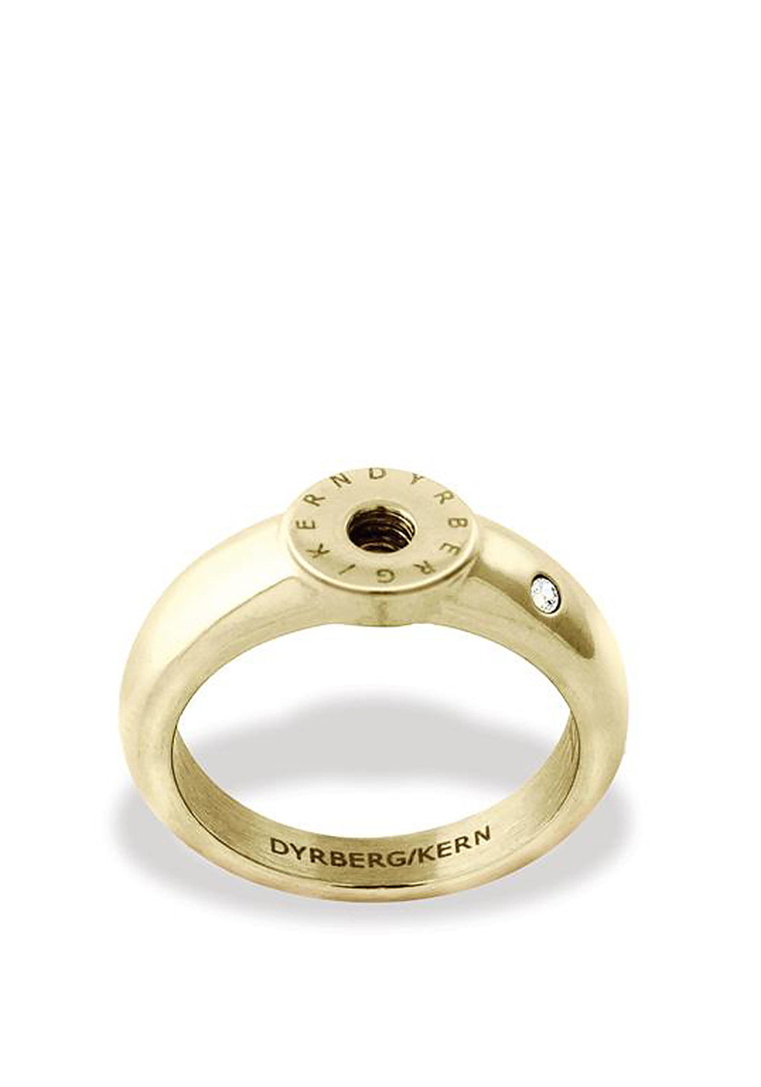 Dyrberg Kern Compliments Ring Band, Gold