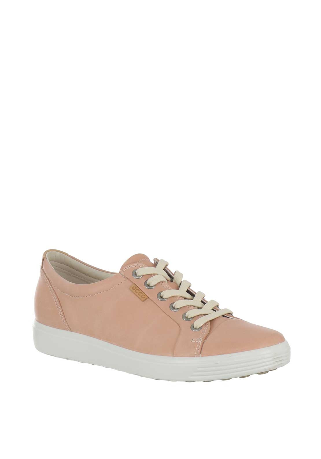 69f657743eb07 Ecco Womens Soft 7 Leather Trainers, Pink. Be the first to review this  product