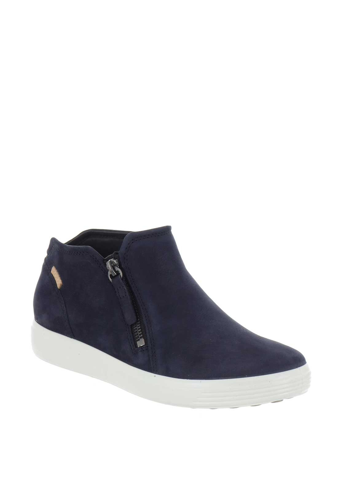 9e87d127e2859 Ecco Womens Soft 7 Leather Ankle Boots, Navy. Be the first to review this  product