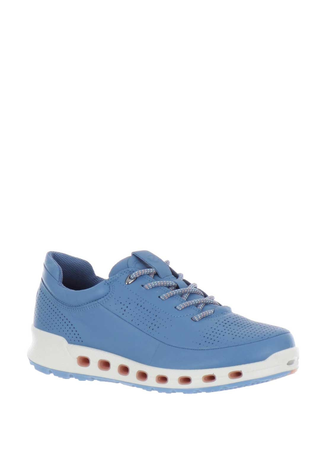cced78e64080b Ecco Womens Cool 2.0 Leather Trainers, Blue. Be the first to review this  product