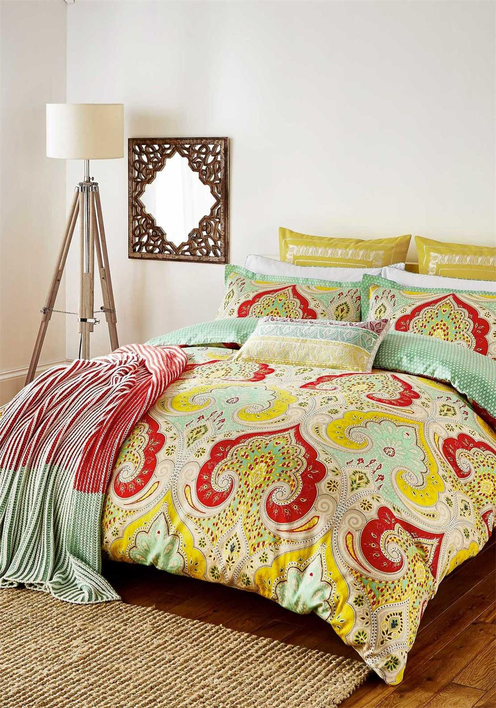 Echo New York Jaipur Duvet Cover, Multi