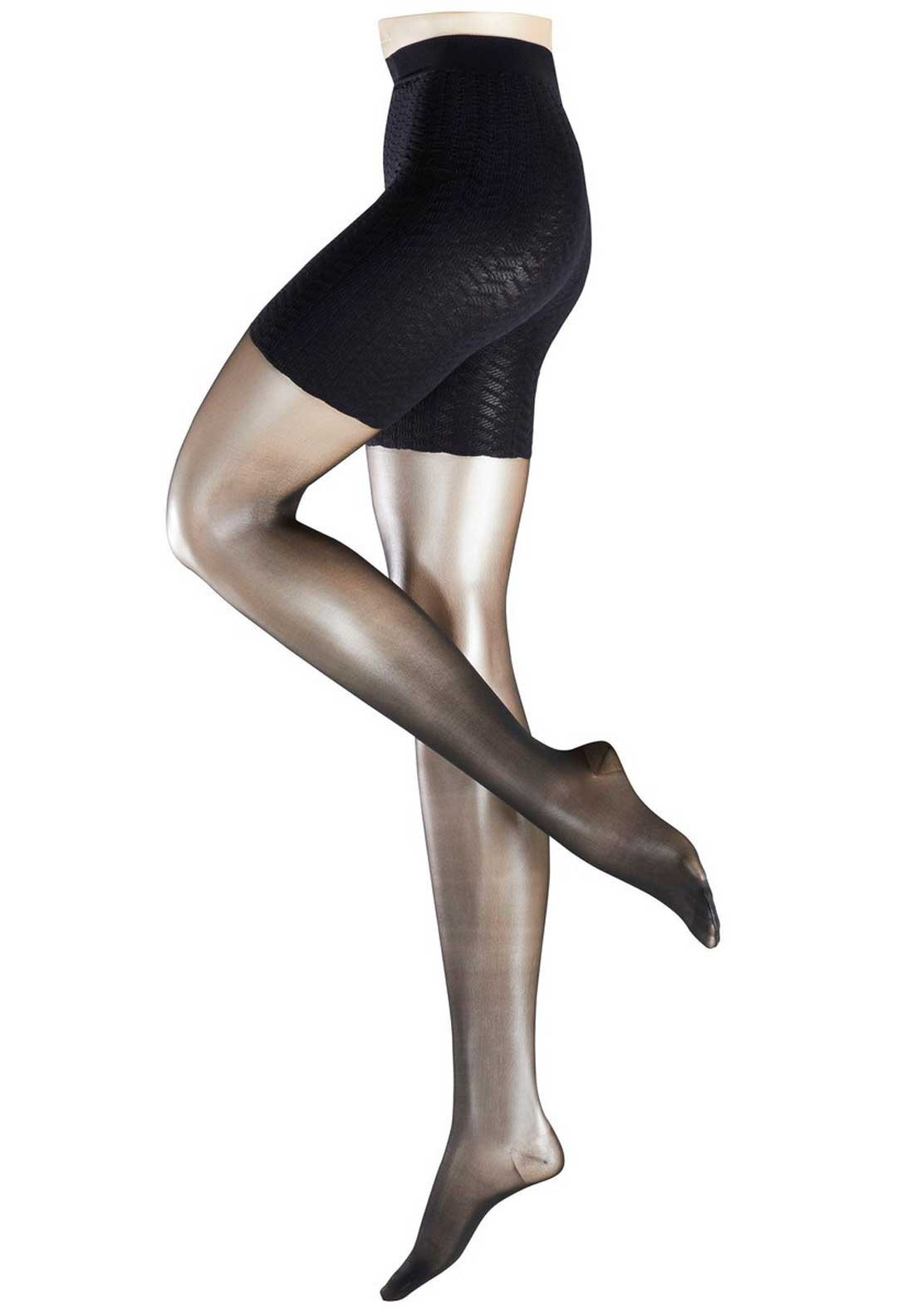 Falke 20 Denier Cellulite Control Tights, Black