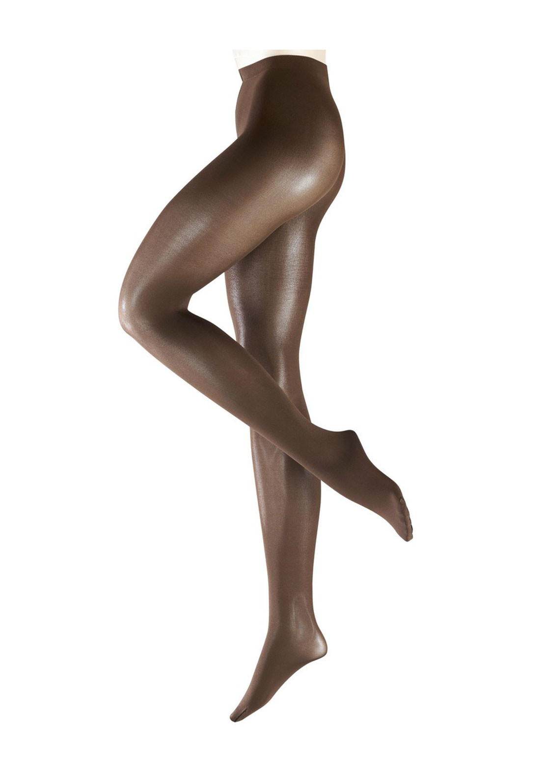 Falke Pure Shine 40 Denier Tights, Brown