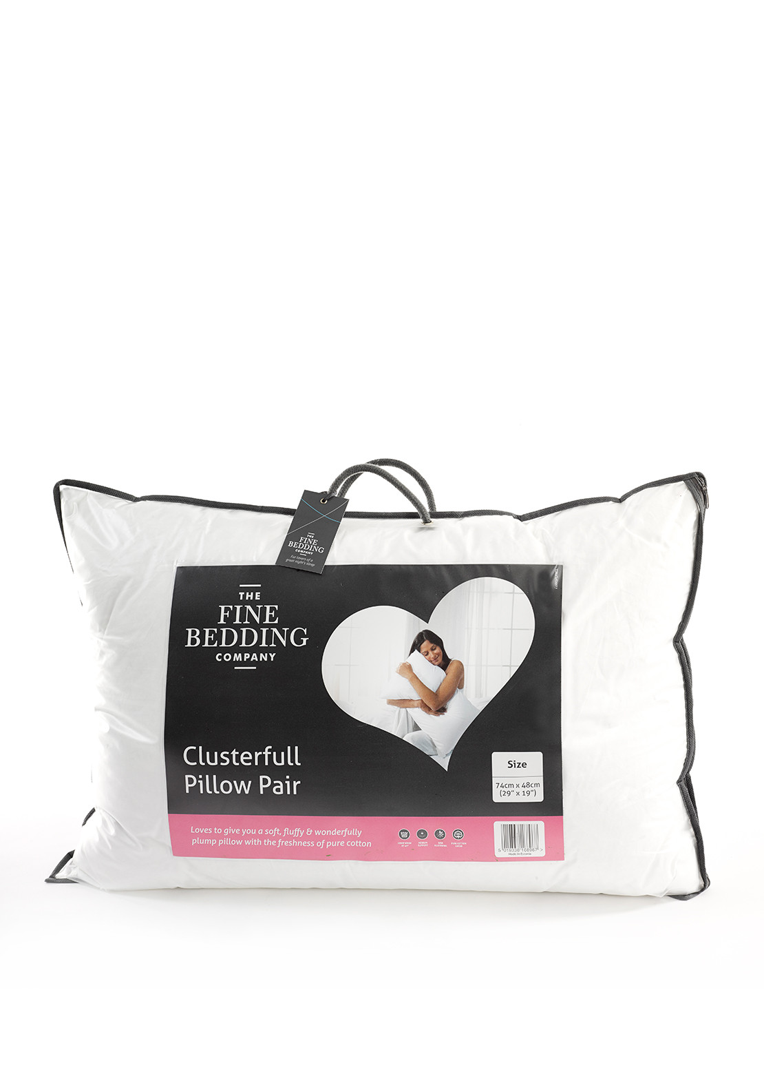The Fine Bedding Company Clusterfull Pillow Pair