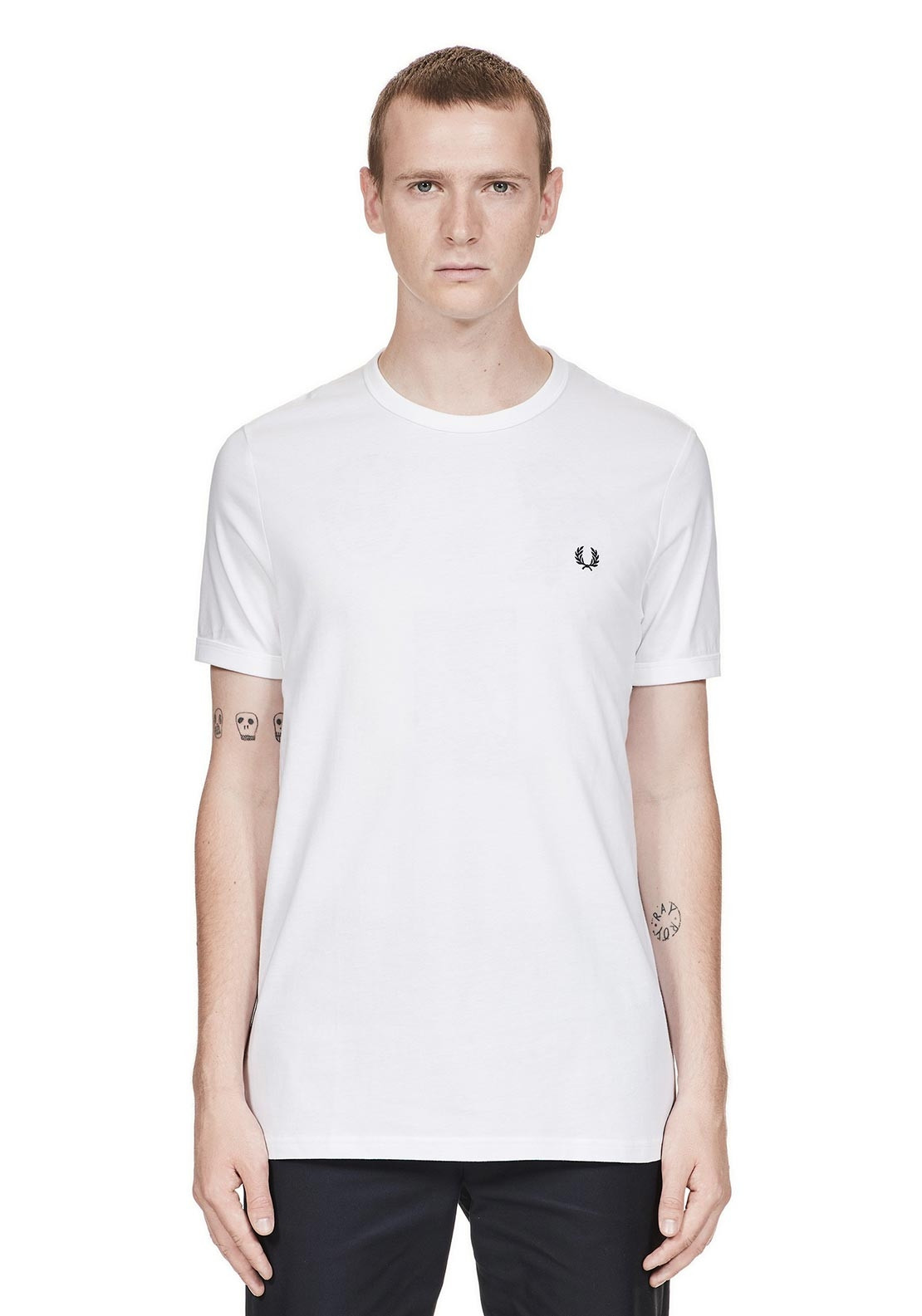 9d8fa97c Fred Perry Ringer T-Shirt, White. Be the first to review this product