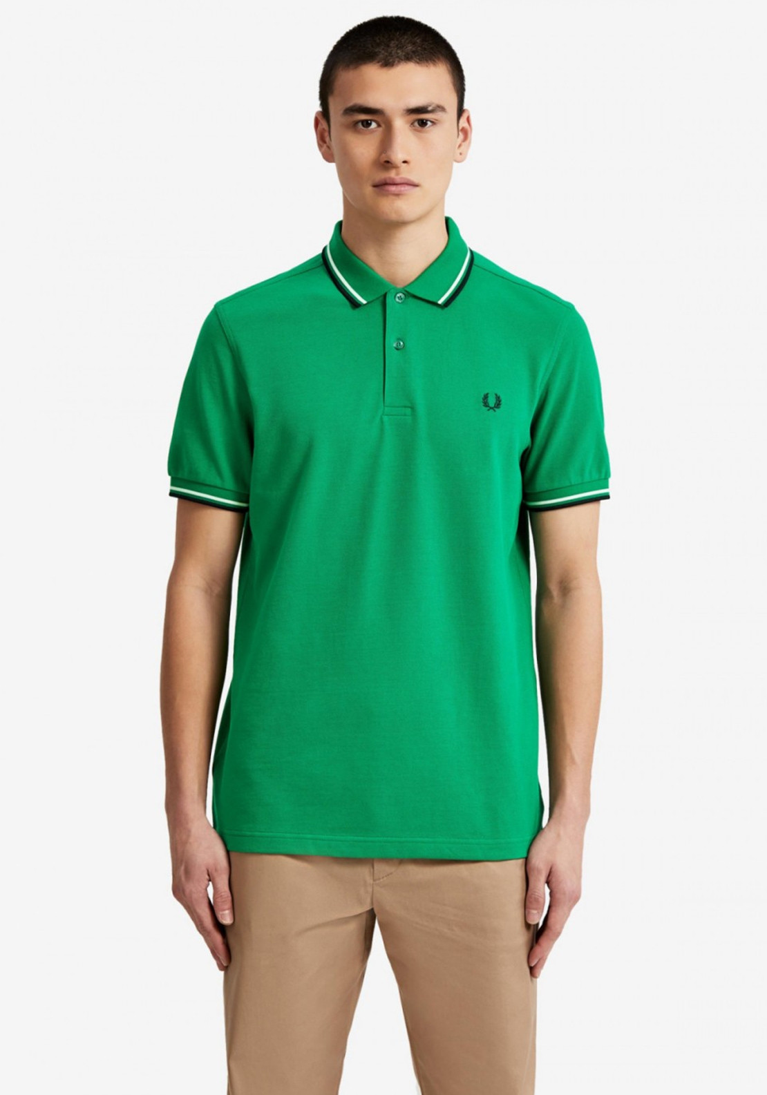 77a5a3aa0 Fred Perry Twin Tipped Polo Shirt
