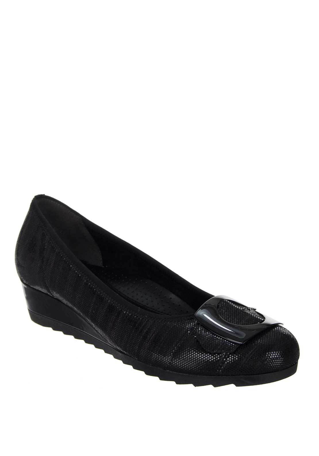 Gabor Cash Womens Casual Shoe, Black