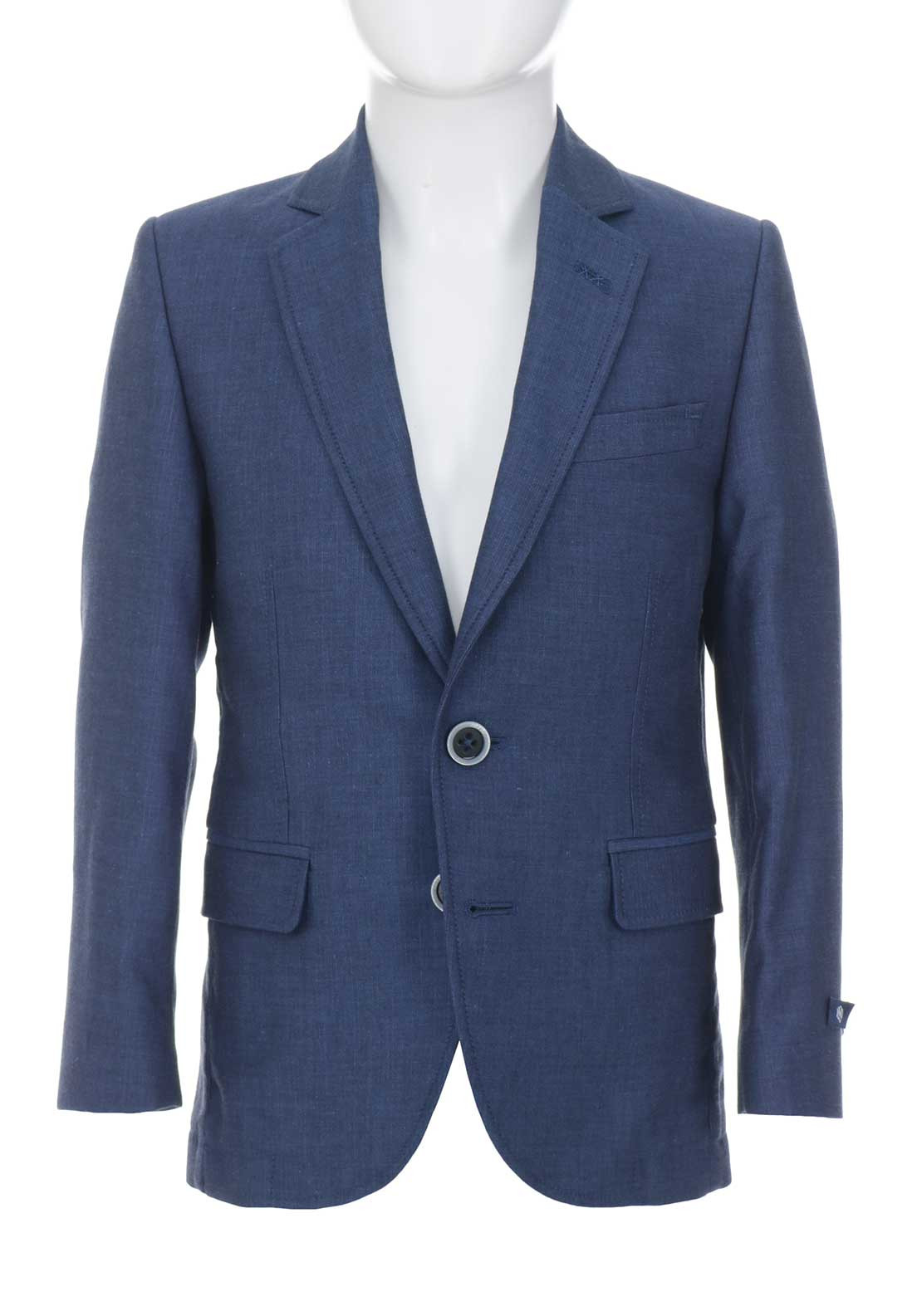 1880 Club Boys Woven Blazer, Blue