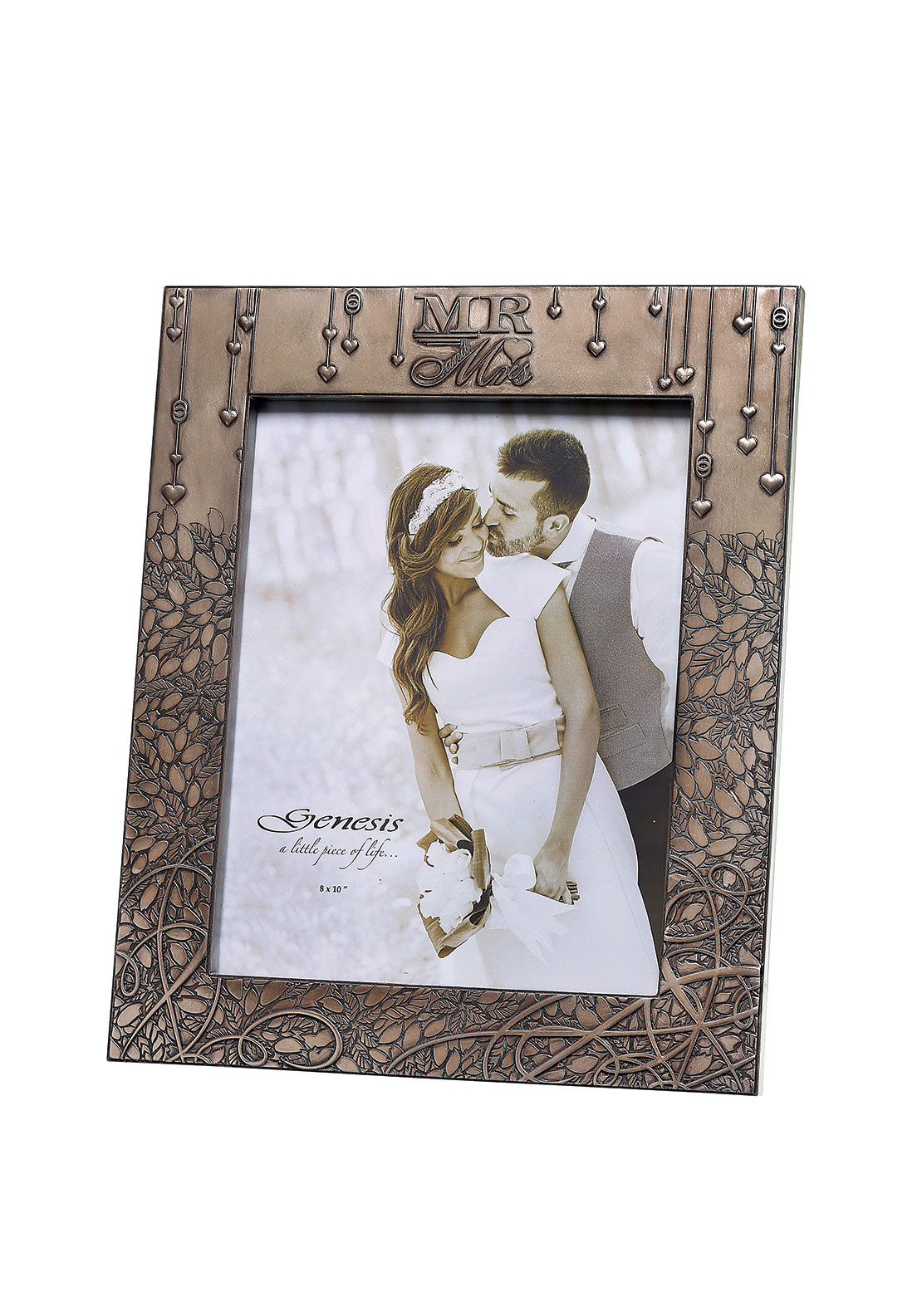 "Genesis Mr & Mrs Photo Frame 8"" x 10"""