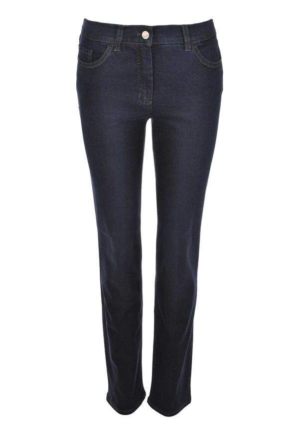 Five-pocket jeans, Straight Fit Romy black female Gerry Weber