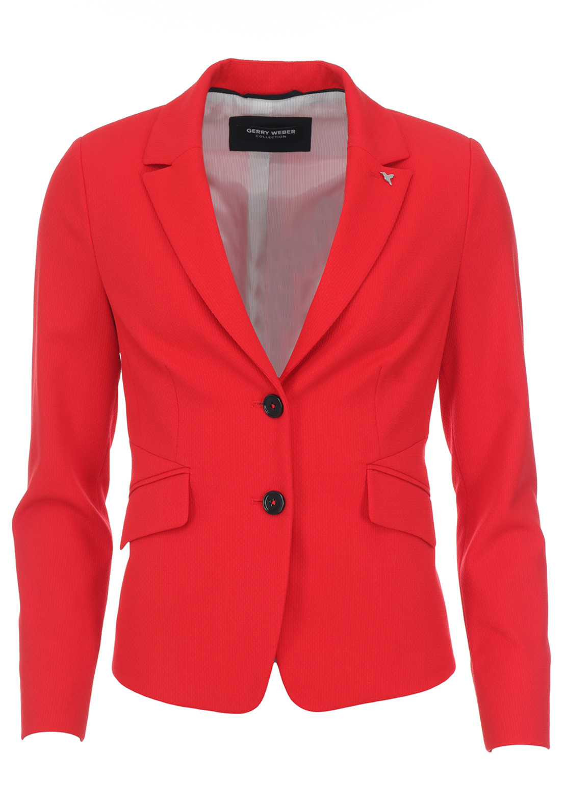 Gerry Weber Textured Blazer Jacket, Red