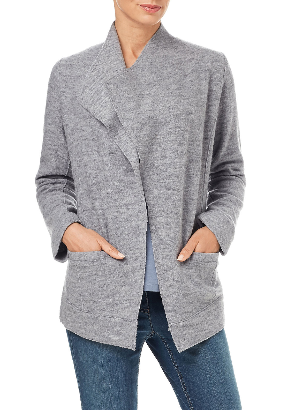 Gerry Weber Merino Wool Blazer, Grey