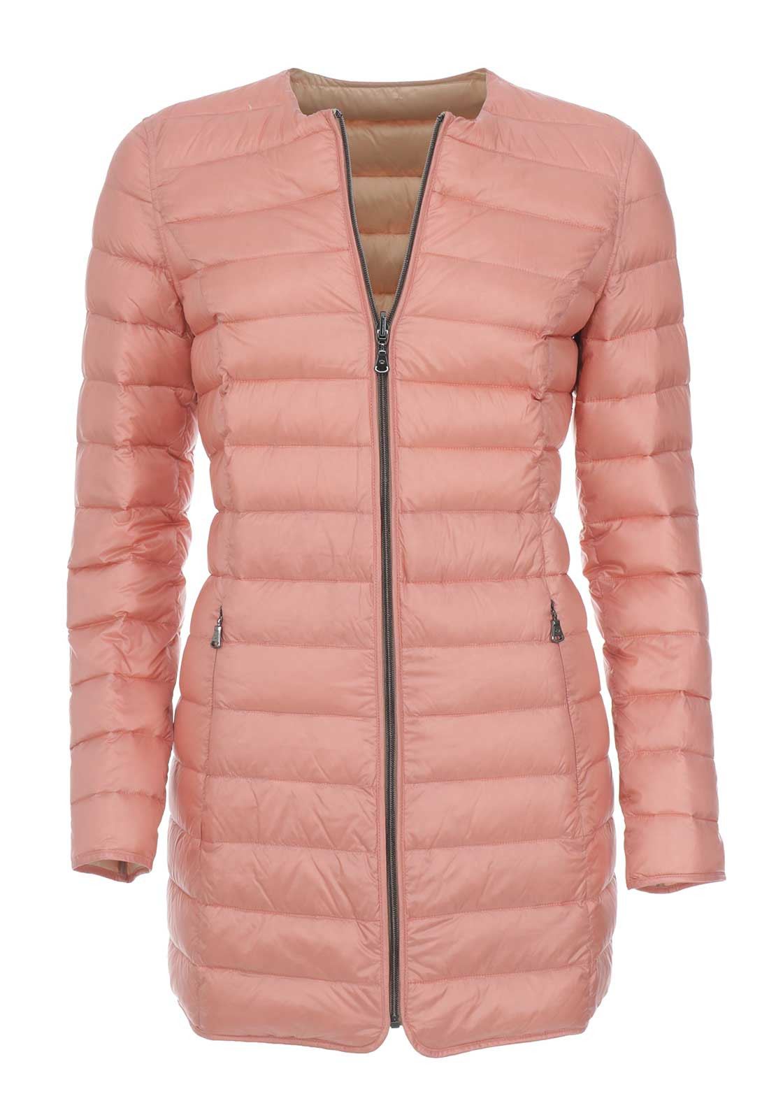 Gerry Weber Reversible Padded Coat, Pink