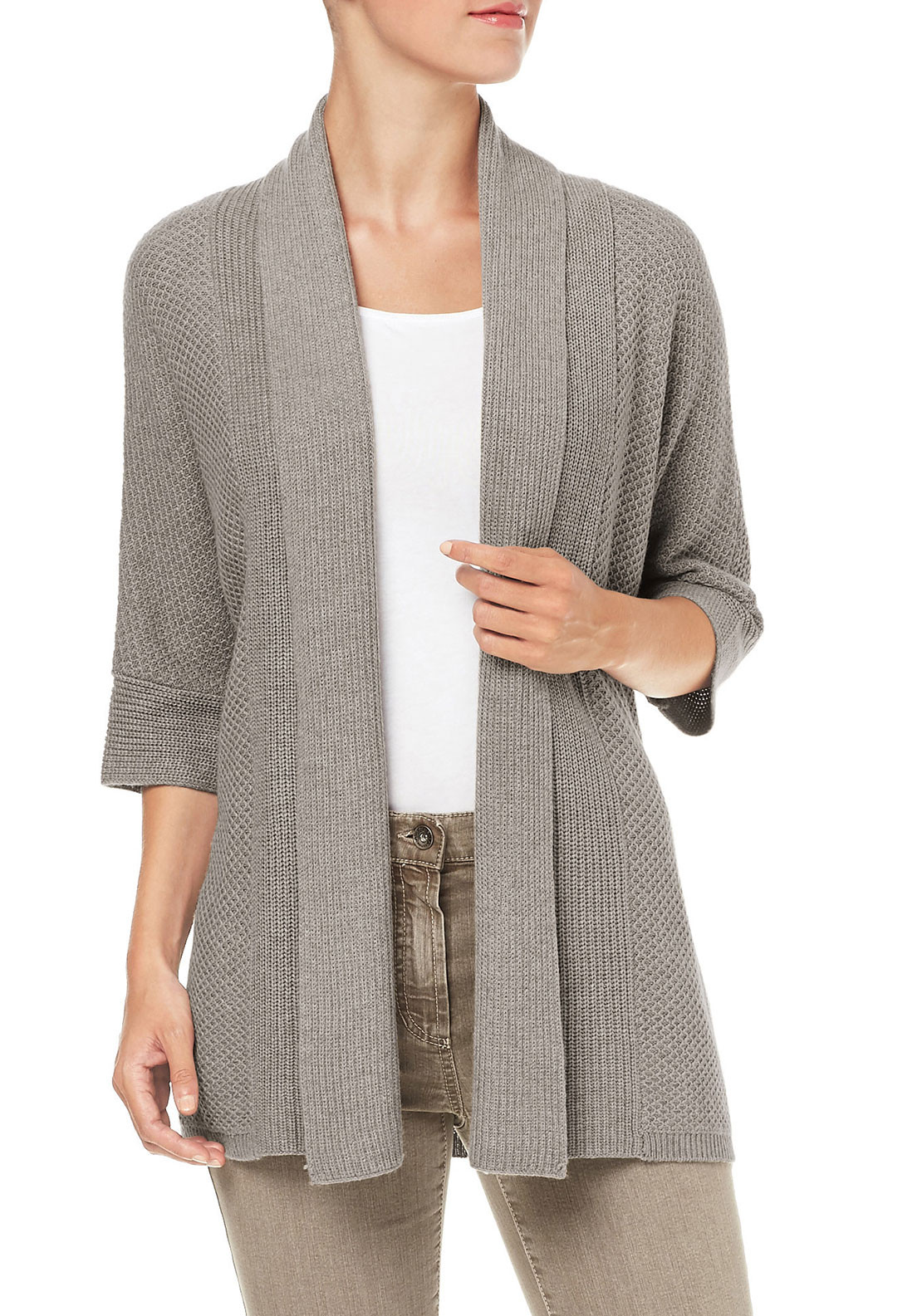 Gerry Weber Loose Fit Cardigan, Grey
