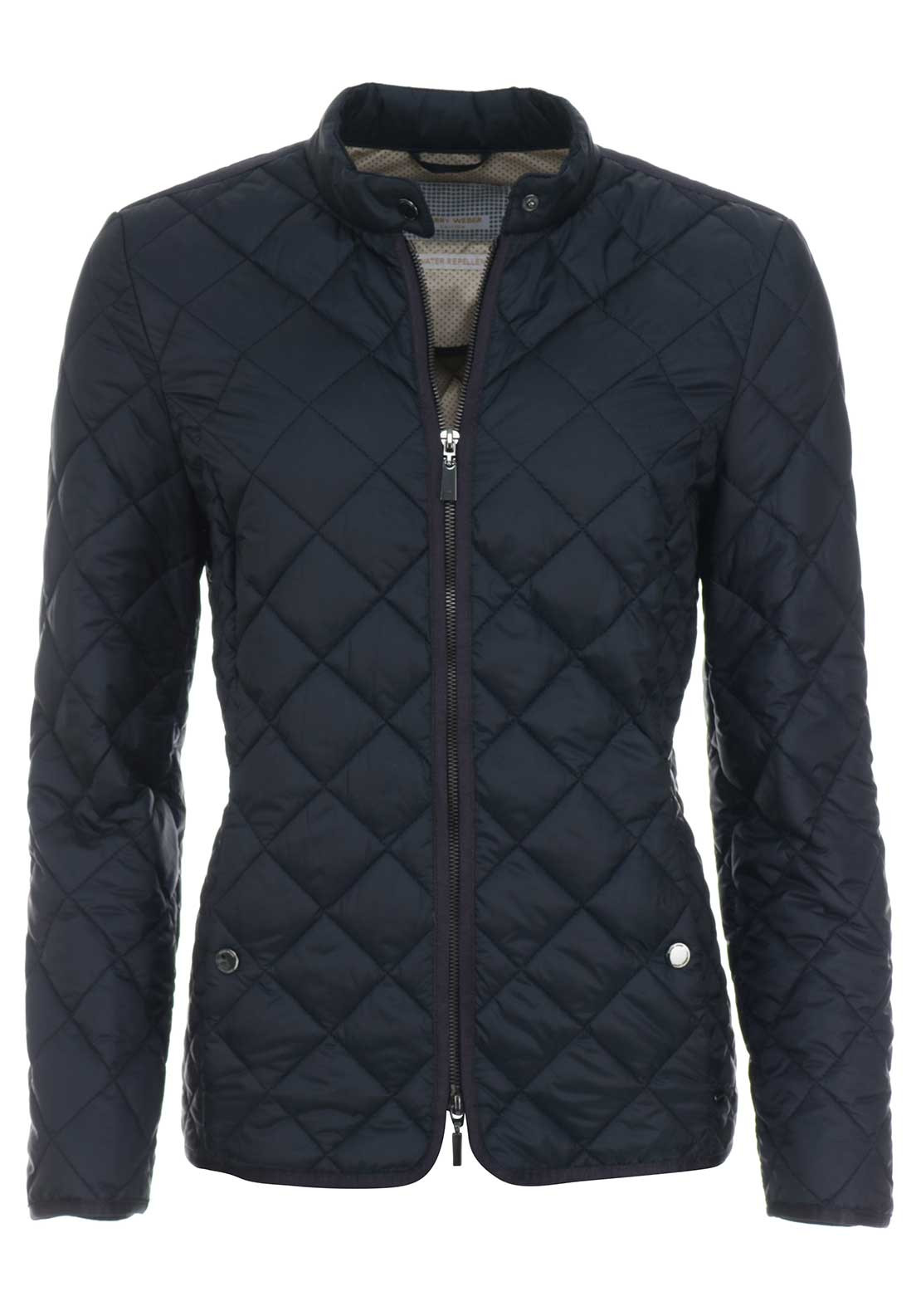 Gerry Weber Water Repellent Quilted Jacket, Navy