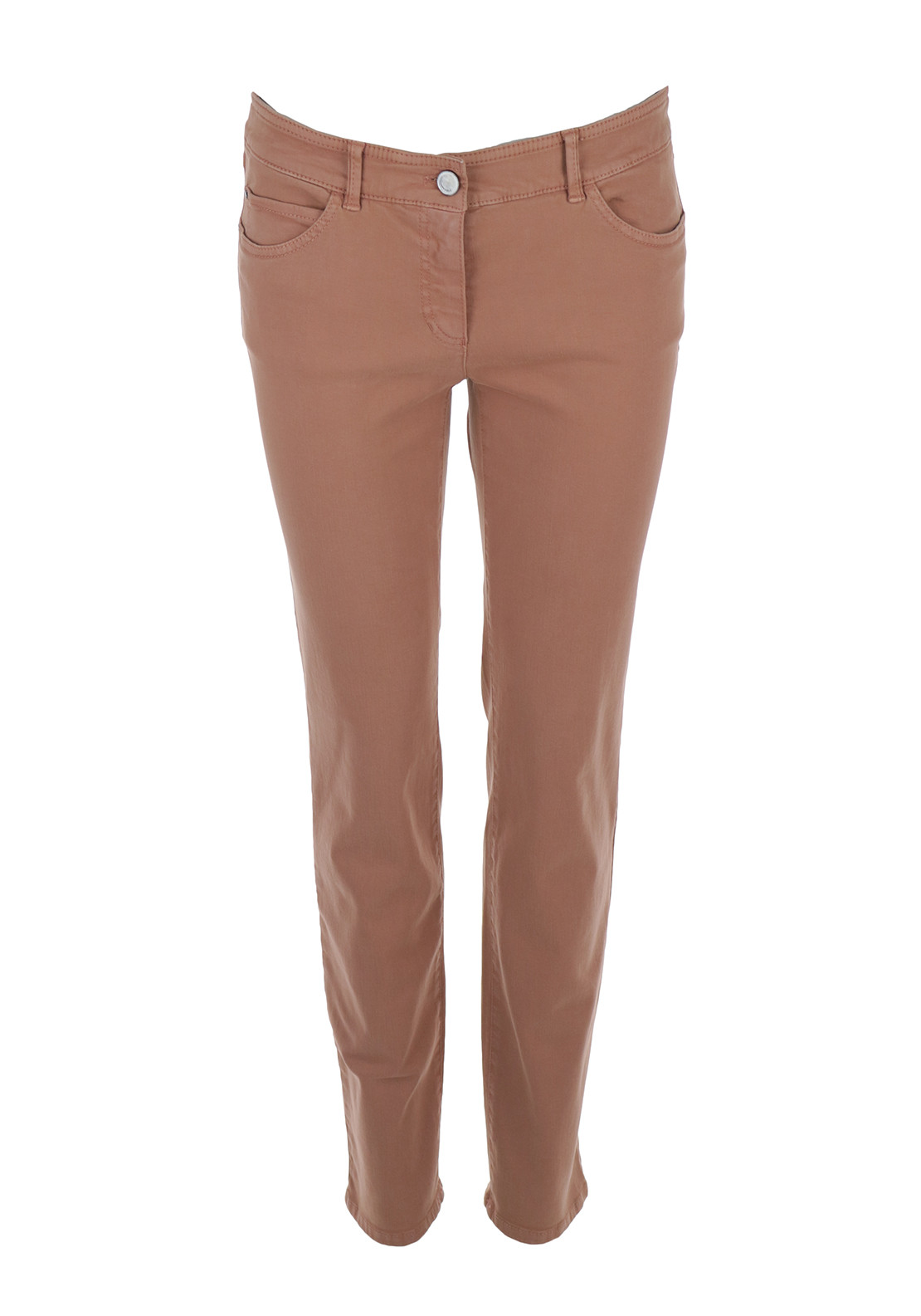 Gerry Weber Straight Leg Jeans, Peach